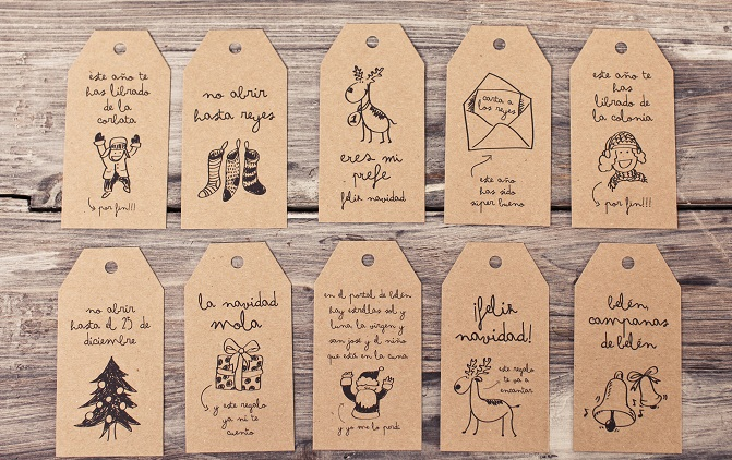 Etiquetas originales creativas mr wonderful