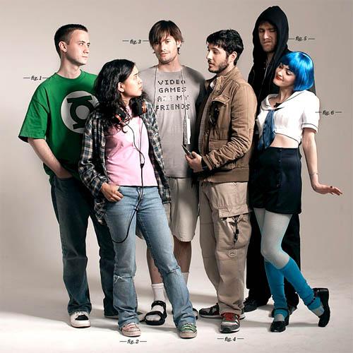 Seguramente estos son frikis y geeks reales con diferentes gustos cosplay, star wars,