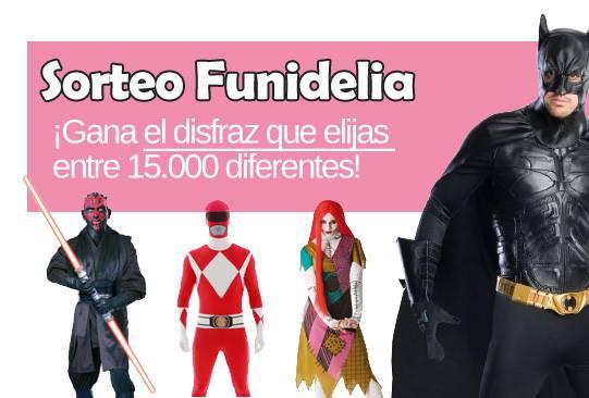 Concurso con Funidelia. Comenta y gana el disfraz que quieras.