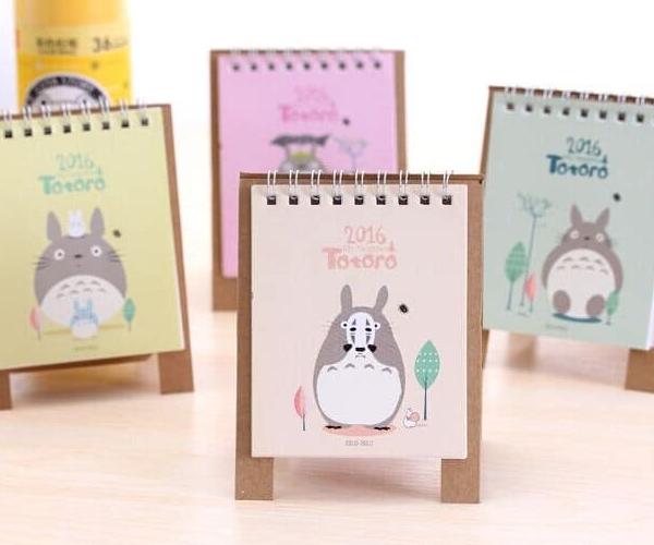 Calendario Totoro
