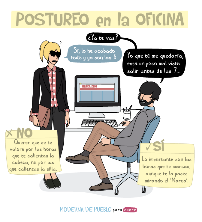 Tira Comica Moderna de Pueblo
