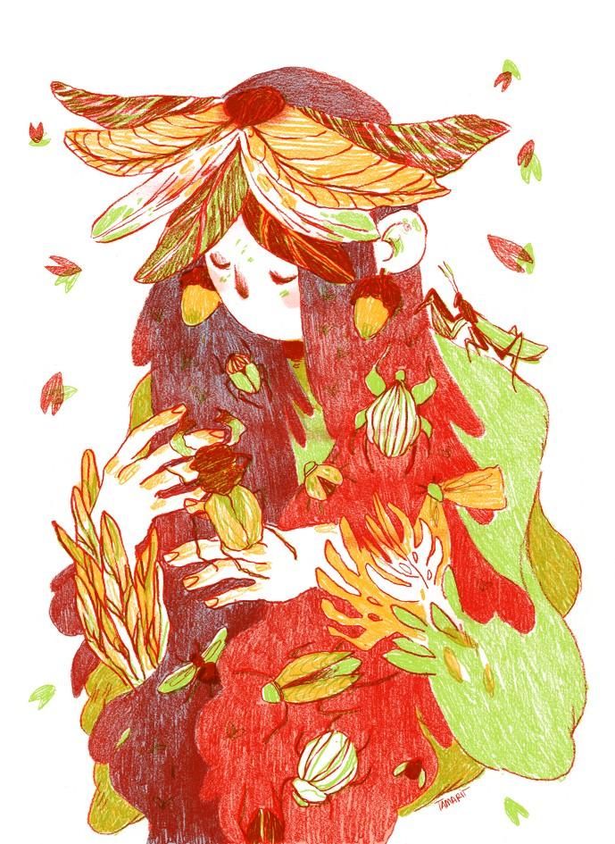 Ilustradora Nuria Tamarit