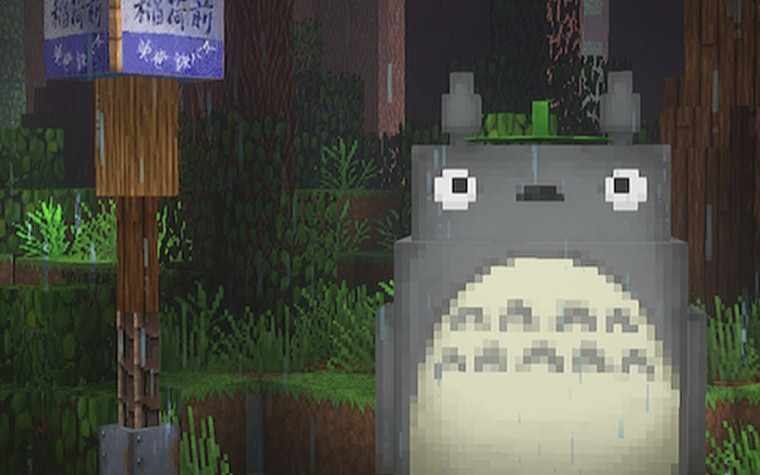 Mi Vecino Totoro Minecraft