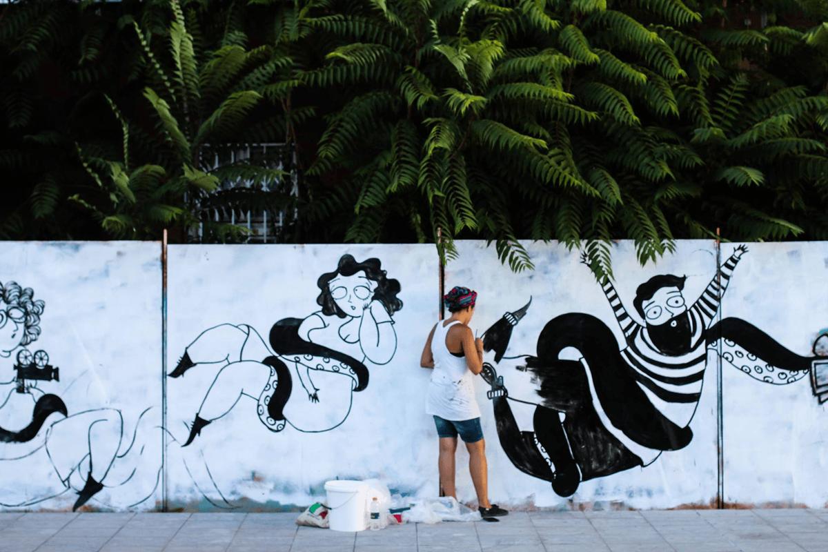 Sara Fratini Mural