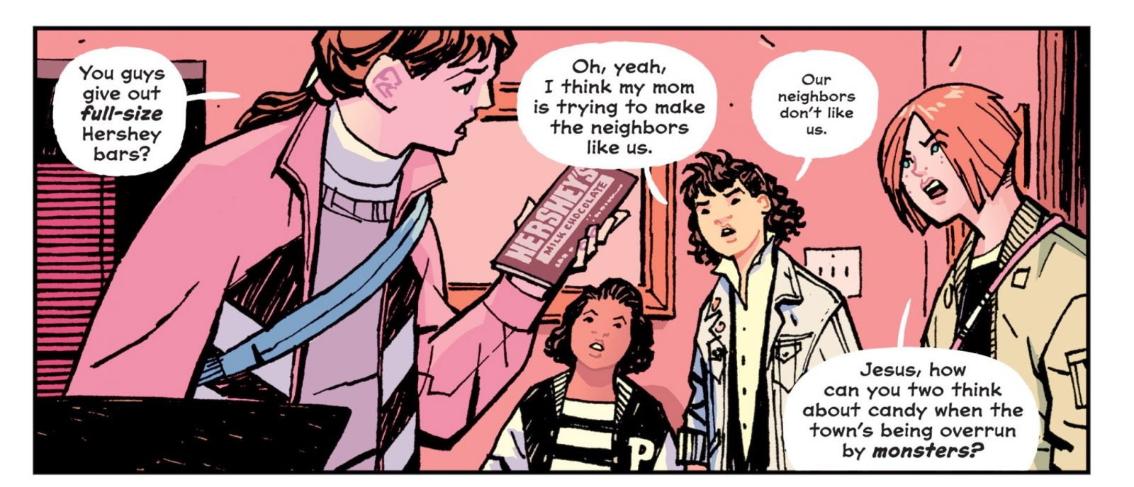 viñeta paper girls