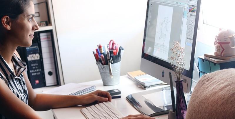 Entrevista a Nuria Diaz, ilustraciones sencillas que se abren camino en Instagram