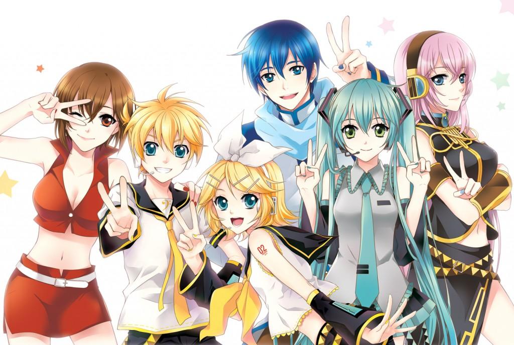 Personajes de Vocaloid