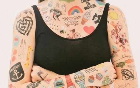 Tattly Tattoos, tatuajes temporales de diseño para niños y no tan niños