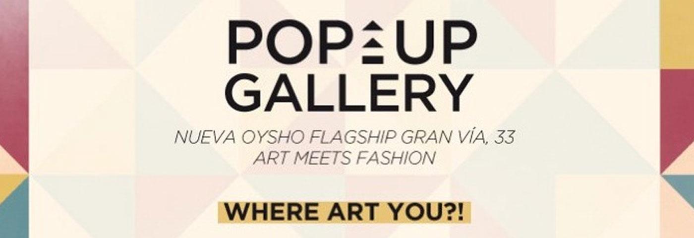 """""""Oysho Pop-up Gallery / Art meets Fashion"""", concurso de ilustración a través de Facebook"""