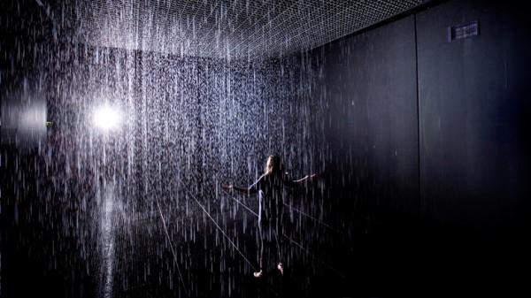 rain room instalacion arte tecnologia ciencia