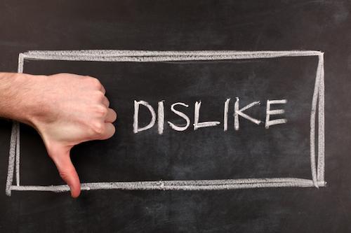 Errores en la presencia online Social Media