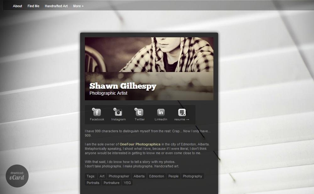 Dooid Shawn  Gilhespy