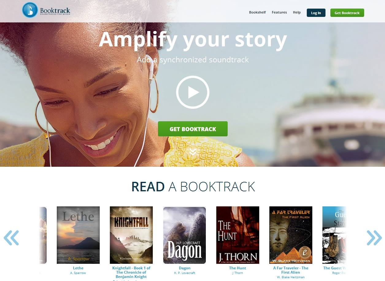 Booktrack audios para ebooks