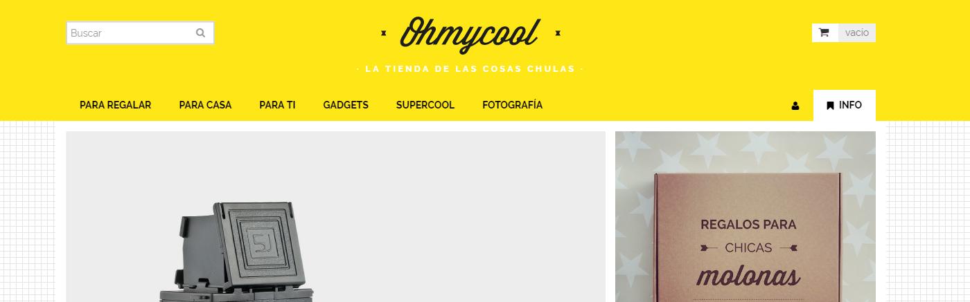 Ohmycool, la tienda online de regalos originales y cosas chulas