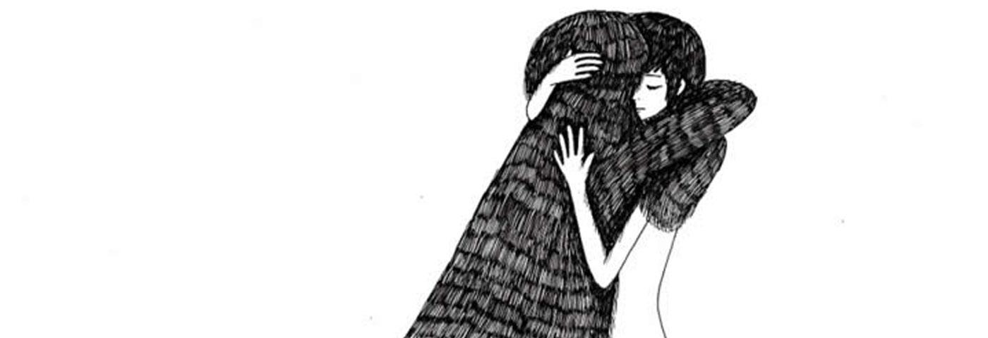 Las ilustraciones de Ani Castillo… imposible no querer un abrazo ahora mismo
