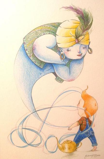 Un Genio por Susana Gomez