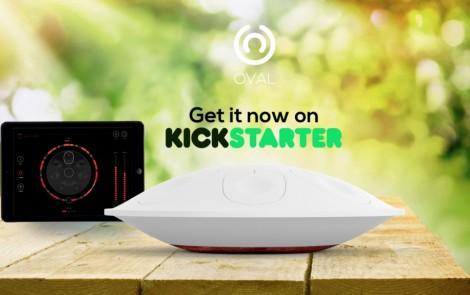 Oval, el primer handpan digital, triplica su presupuesto inicial en Kickstarter España