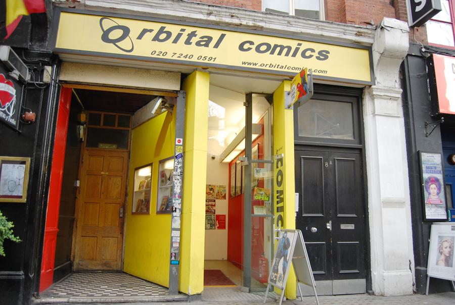 orbital comics 1