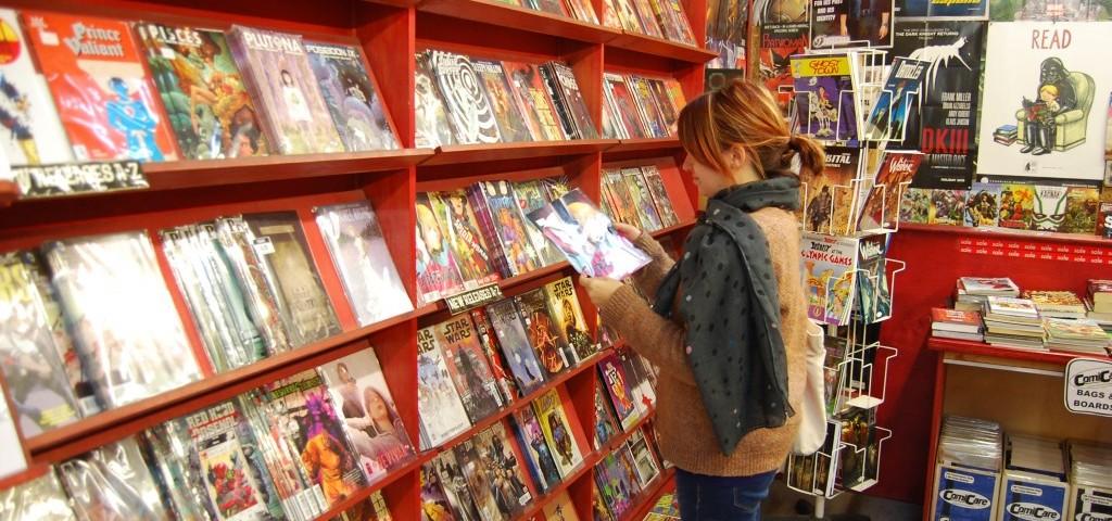 5 tiendas de cómics en Londres que merece la pena visitar
