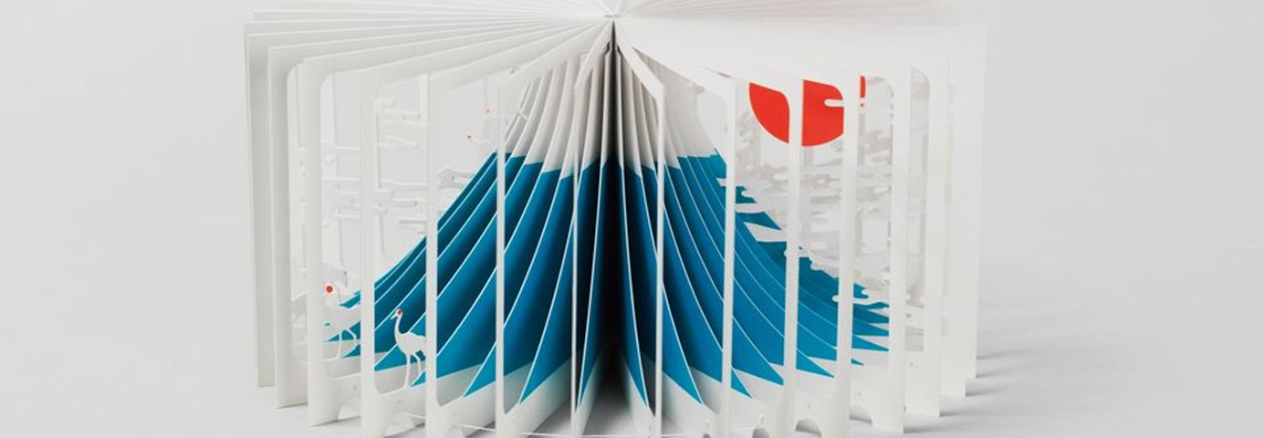 Los libros 360º de Yusuke Oono