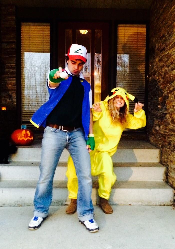 Disfraz en pareja: Ash Ketchum y Pikachu