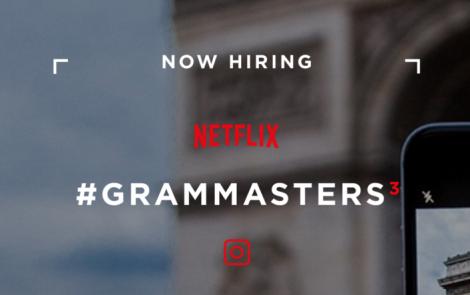 Netflix te lleva de rodaje y te paga por tus fotografías de Instagram