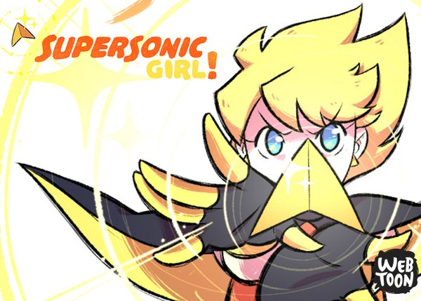 Supersonic Girl LINE Webtoons