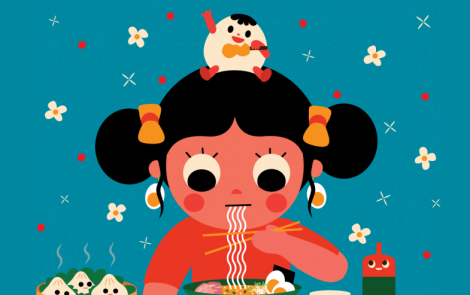 Las coloridas y tiernas ilustraciones de la artista coreana Uijung Kim