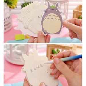 Totoro Memo Pad Tarjetas de Vocabulario