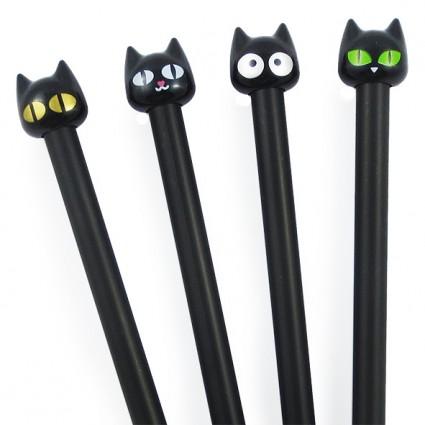 Bolígrafo Gato Negro