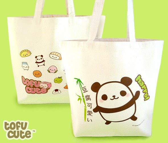 Tote Bag Kawaii Panda