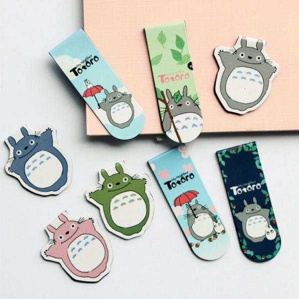 Marcapaginas Magnetico Totoro