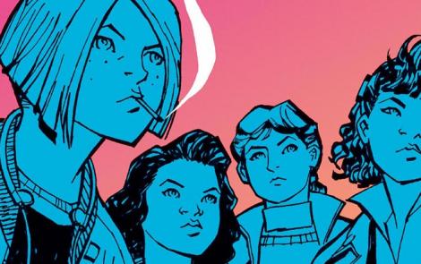 Paper Girls, mujeres al poder en el nuevo cómic de de Brian K. Vaughan