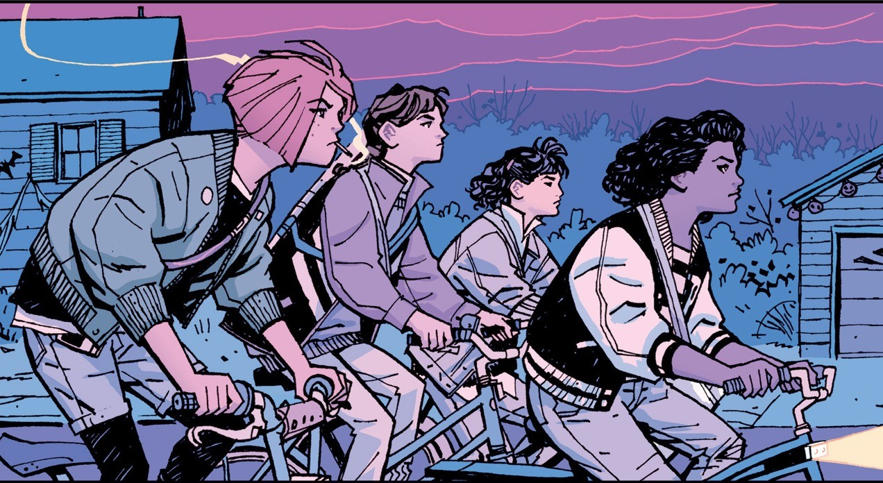 paper girls comic en español