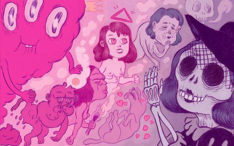Participo en el podcast Radio Fuego #03 hablando de mujeres y cómics