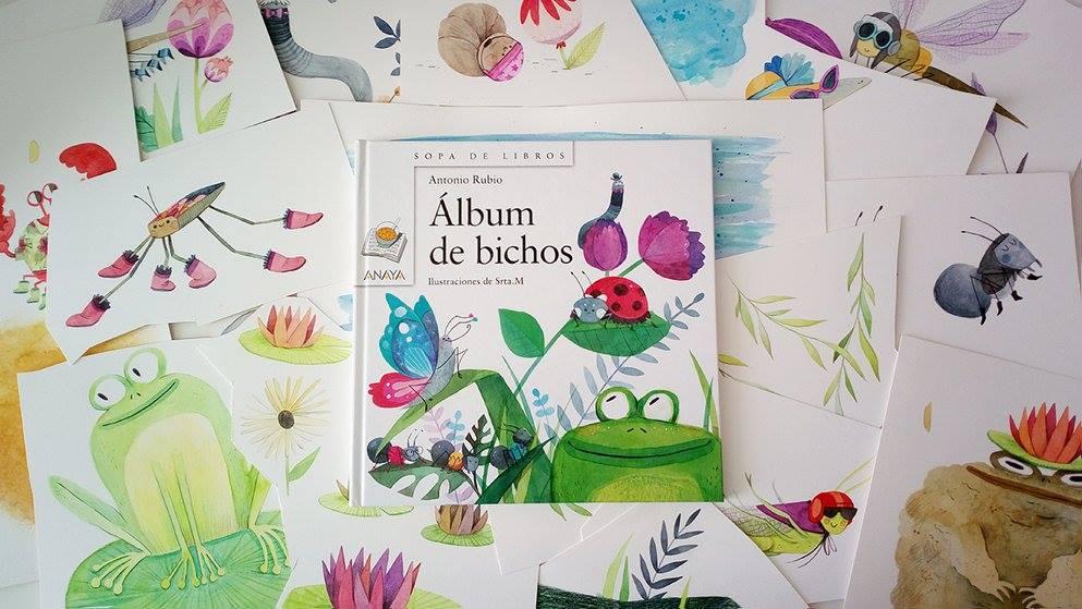 Album de Bichos de Anaya