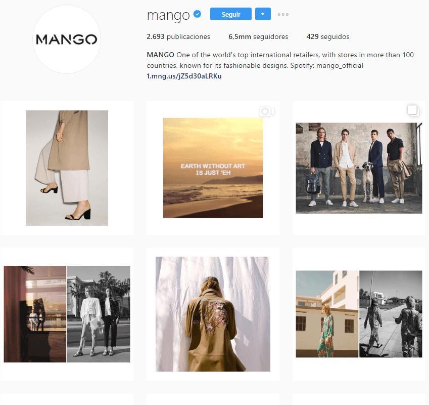instagram mango