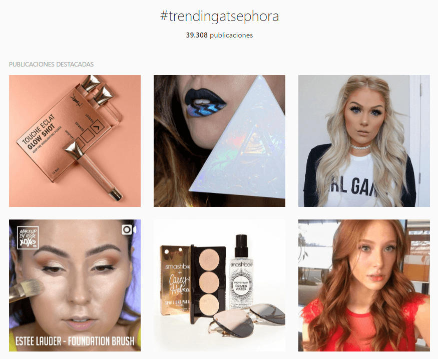 trending at sephora