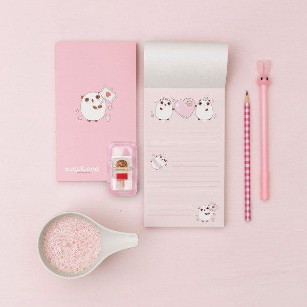 libreta bonita panda