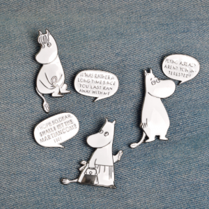 moomin pin broche