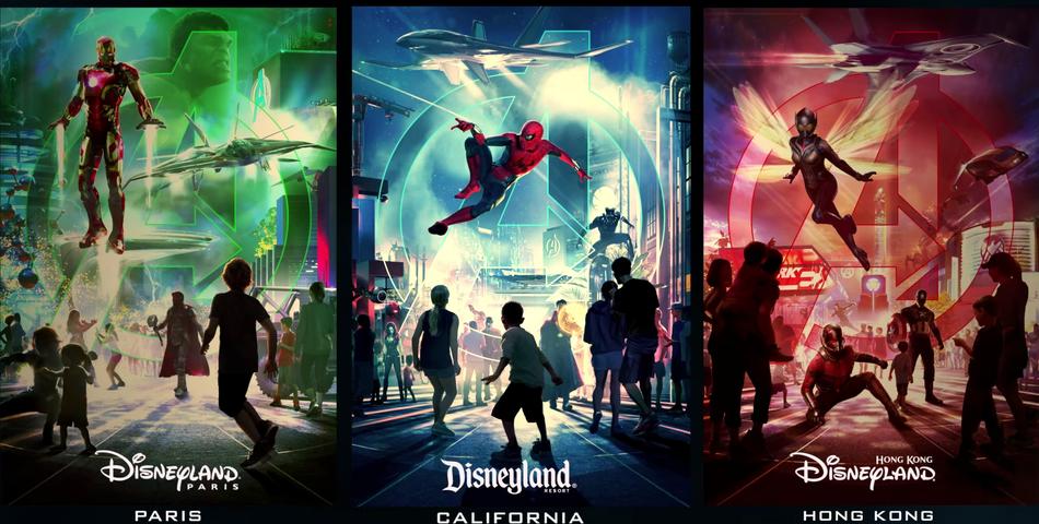 Los superhéroes de Marvel aterrizan en los parques temáticos Disney