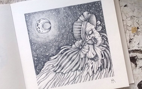 Sasha Novikova y sus ilustraciones escapadas de cuentos