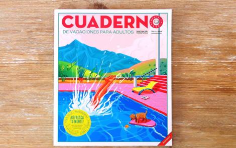 Cuaderno de vacaciones para adultos de Blackie Books, una solución para mantenerse creativo en verano