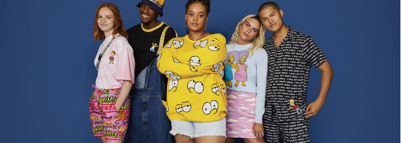 ASOS lanza una colección de ropa de Los Simpsons