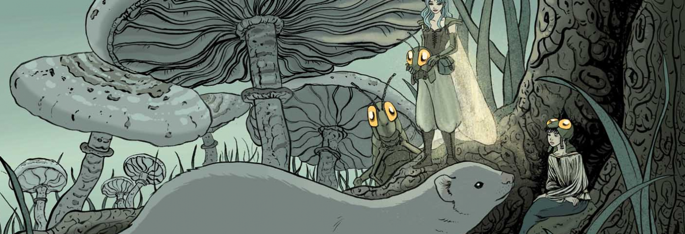 María Espejo, una ilustradora entre la fantasía y el terror