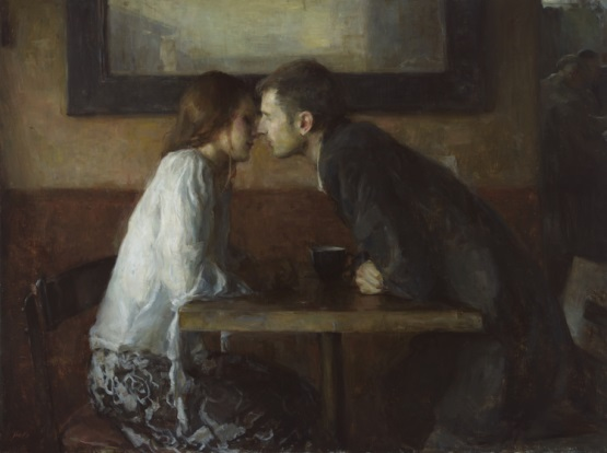 Ron Hicks pintura amor
