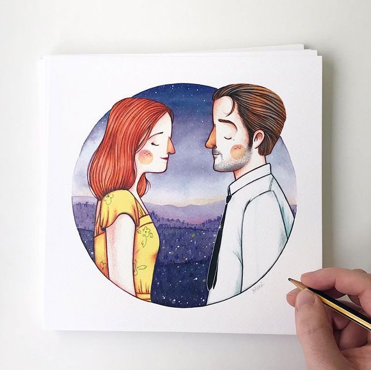 jotaka ilustracion basada en cine