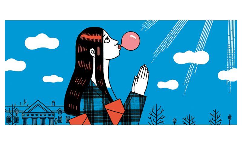 Luci Gutiérrez, ilustrando la ironía del mundo