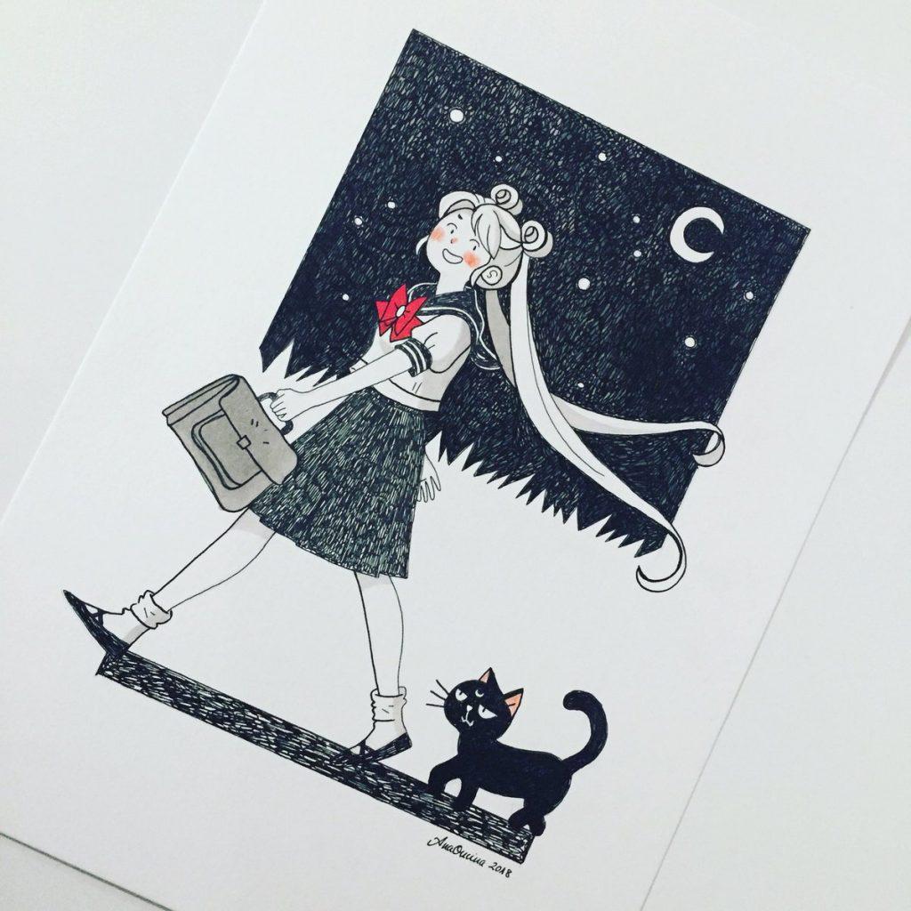 ana oncina sailor moon