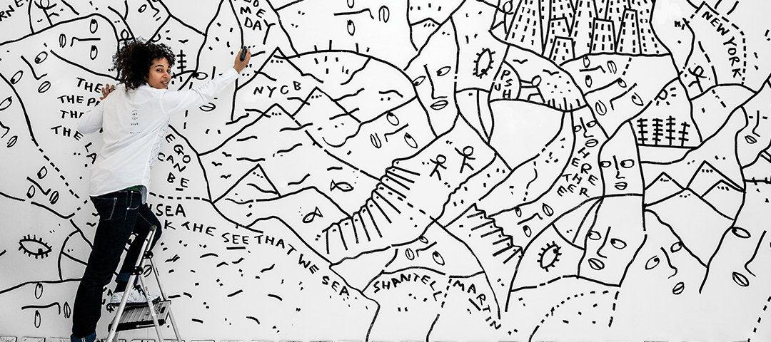 El universo lineal de Shantell Martin
